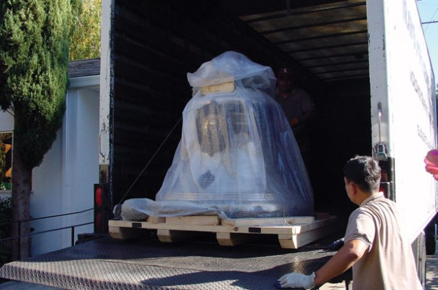 Blagovest Bell on Truck